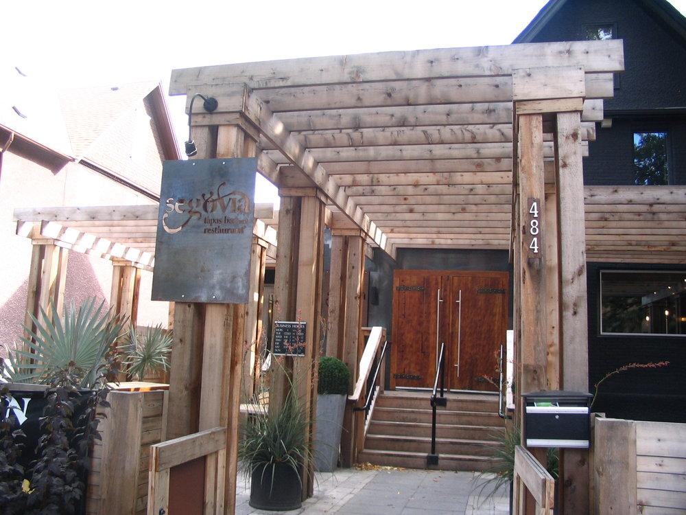 Copy of Segovia Restaurant and Bar Doors