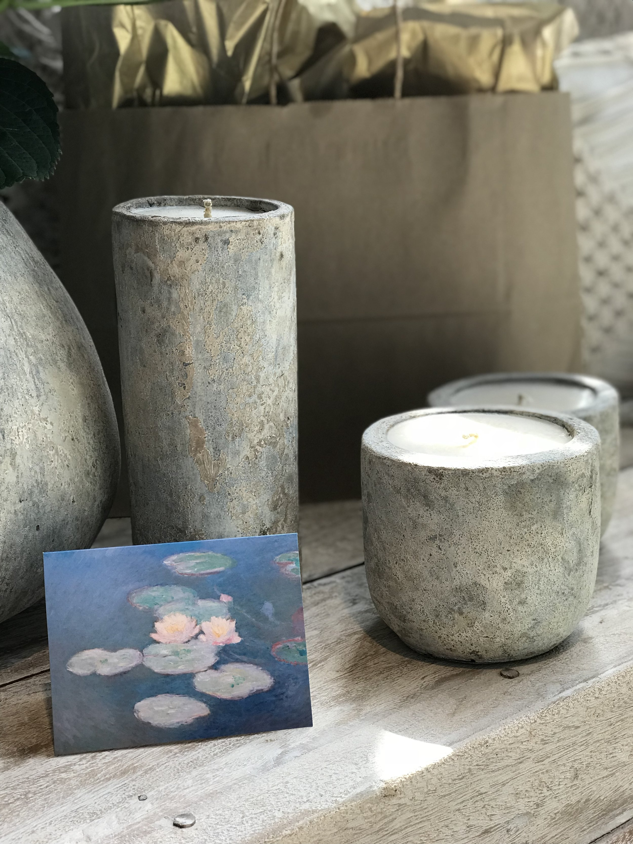 Artifact candles, mothers day gift guide. Winnipeg furniture