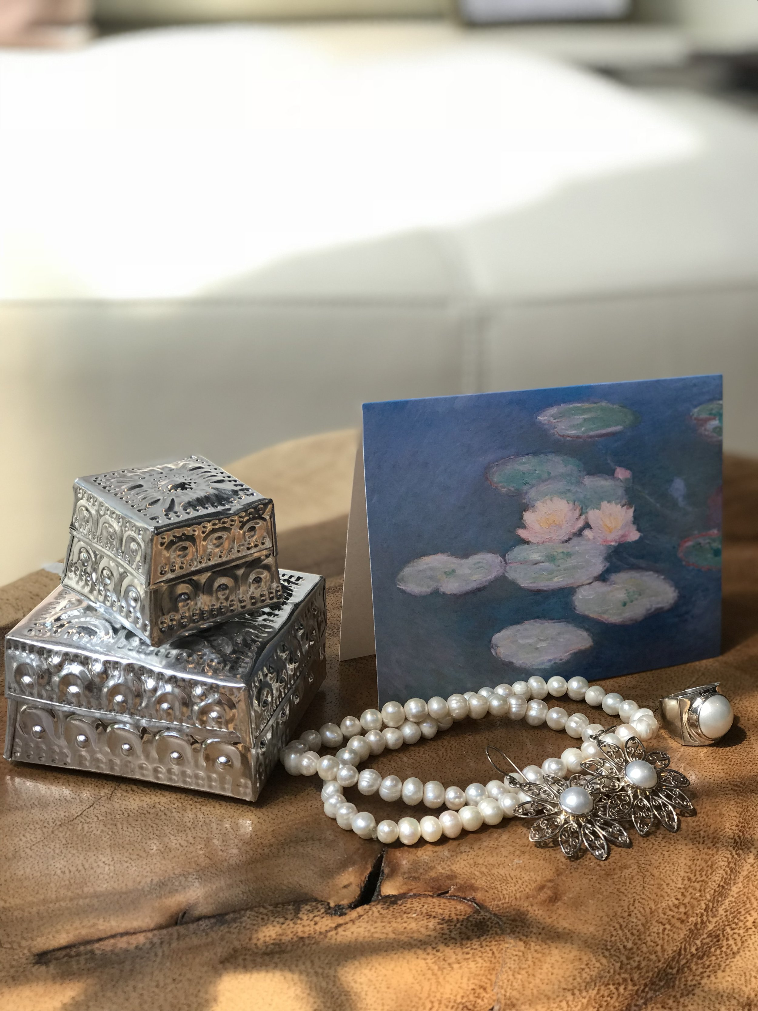 Mother's Day gift guide. Winnipeg furniture store. jewelry, pearl,.JPG