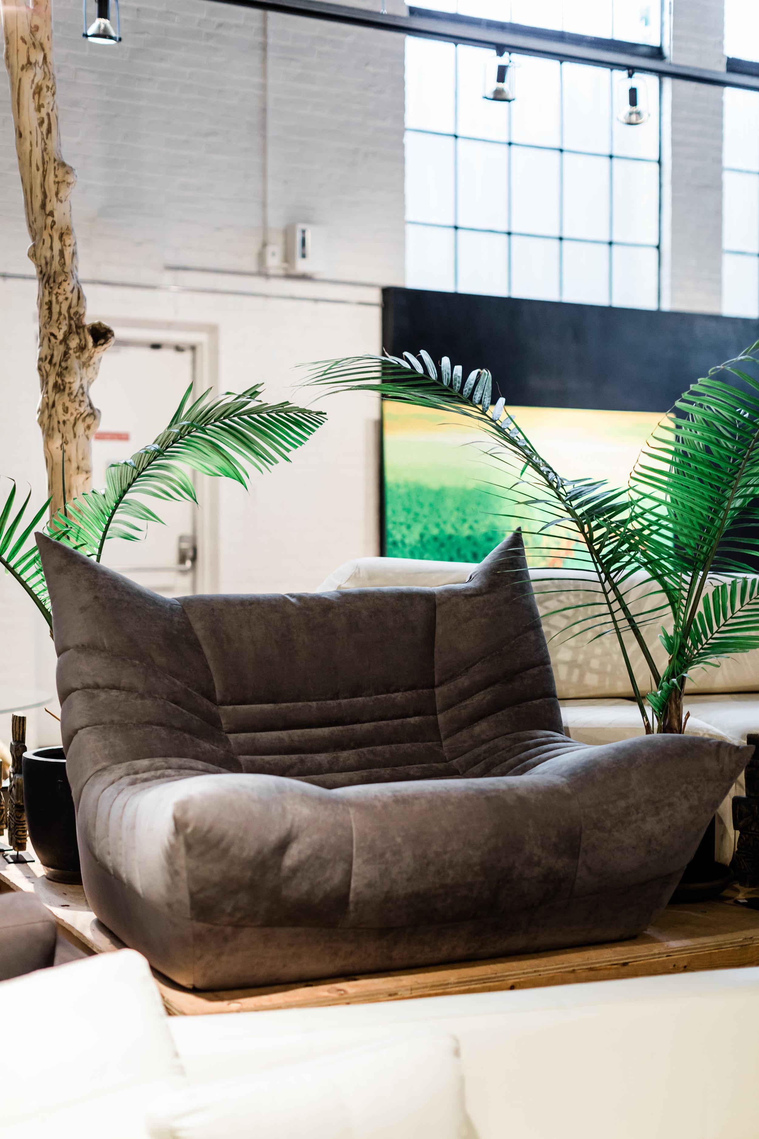 Copy of Wolseley Chair. Blue Moon Furniture store in Winnipeg