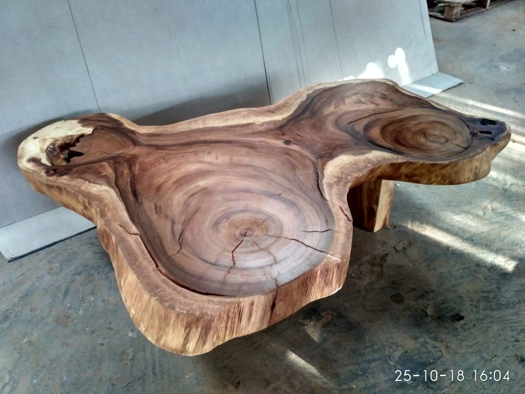 SUAR WOODEN COFFEE TABLE WITH WOODEN LEG 120x134x38.5 CM.jpg