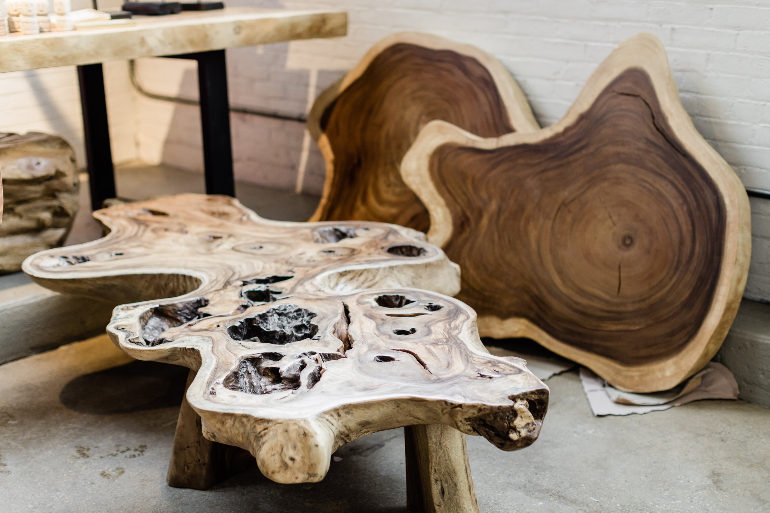 Copy of Blue Moon Furniture. Majestic Live Edge Coffee Tables.