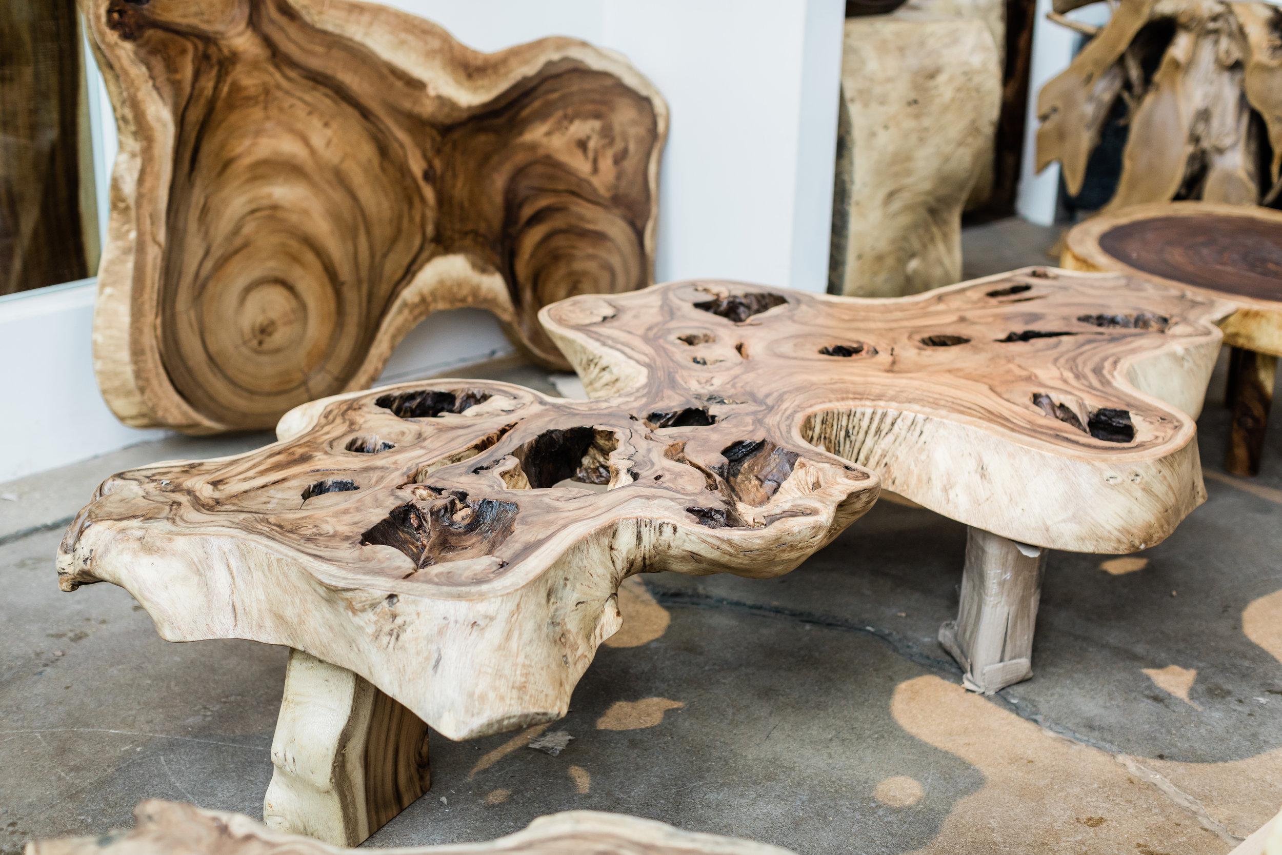 Copy of Majestic Single Slab coffee table. Blue Moon Furniture store in winnipeg.