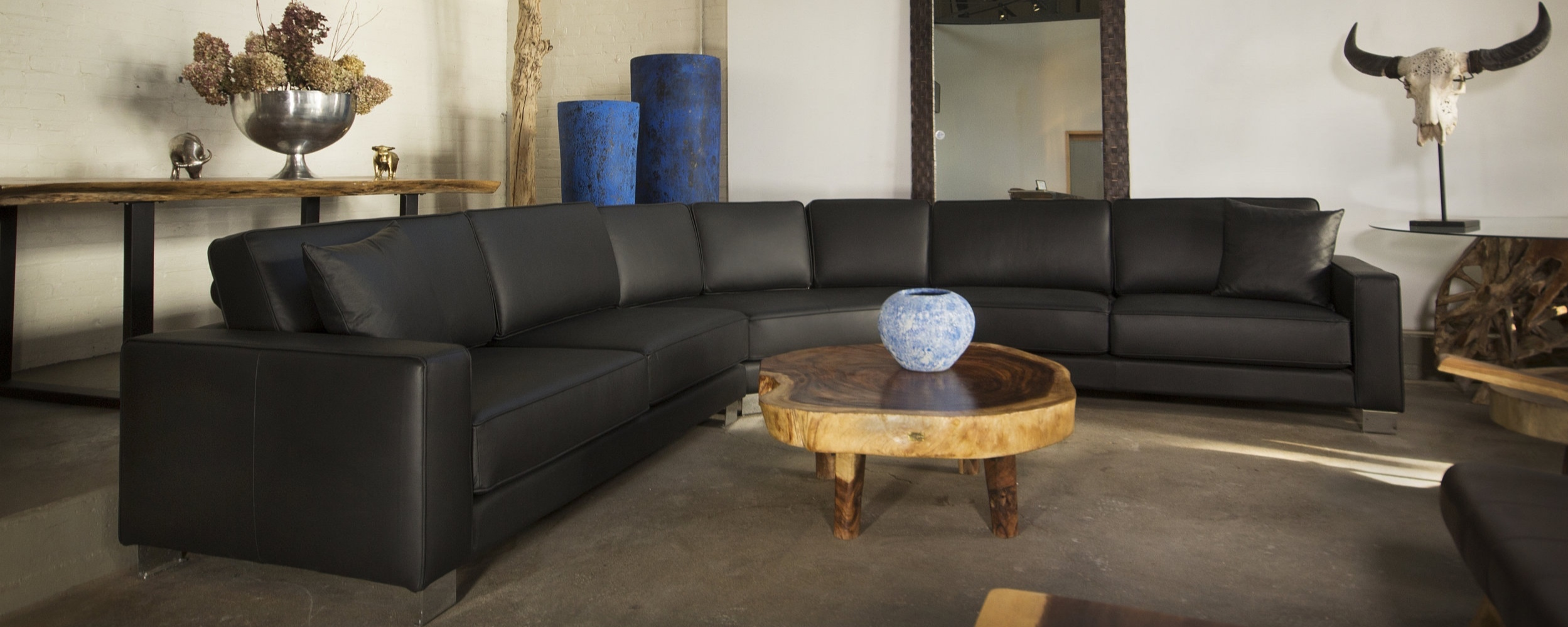 Copy of design 10 sectional in leather