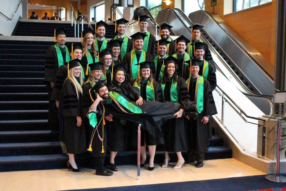 Masters in Exercise & Sports Science Graduates, University of Western States, 2015