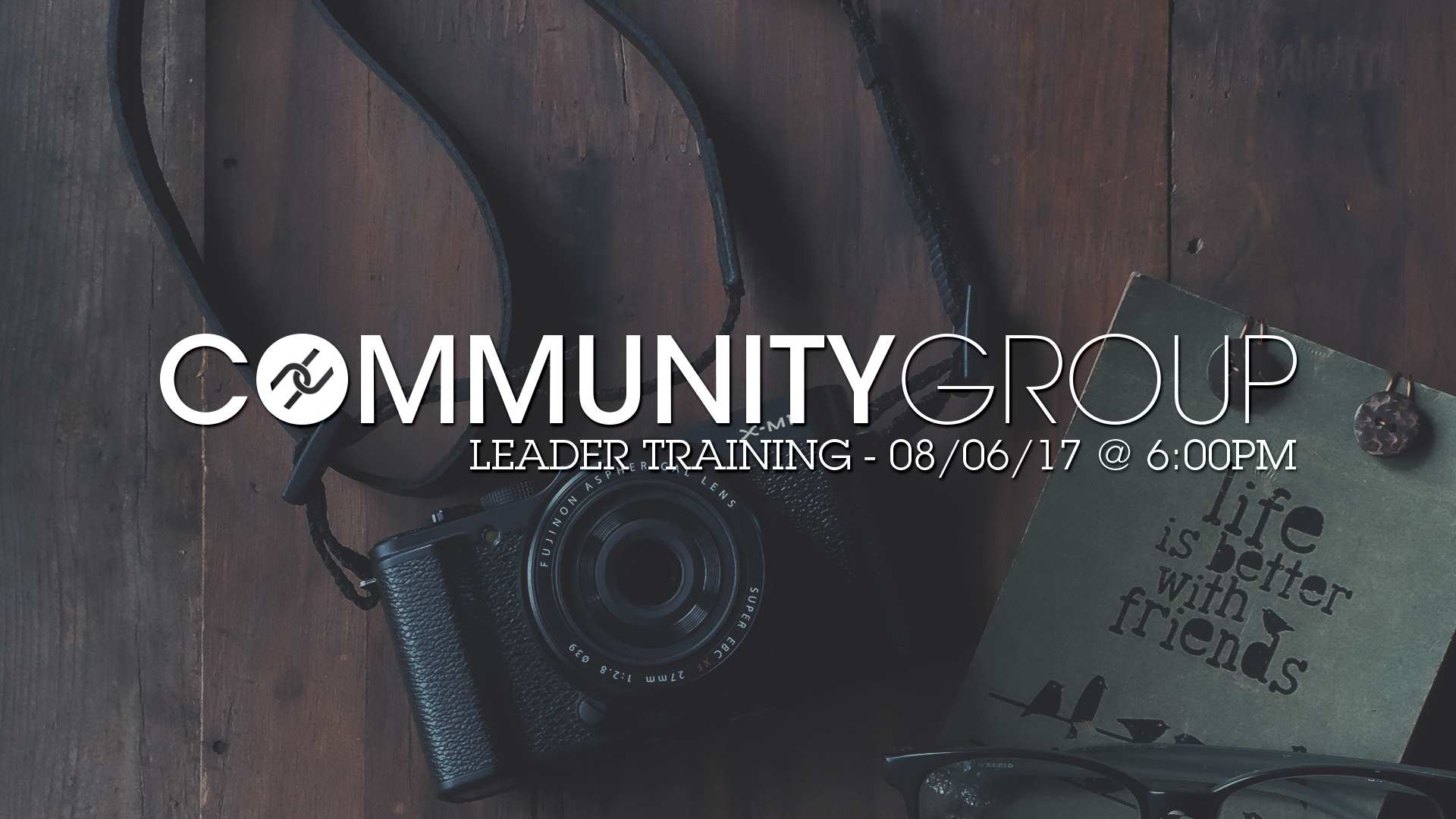 Community Group Leader Training