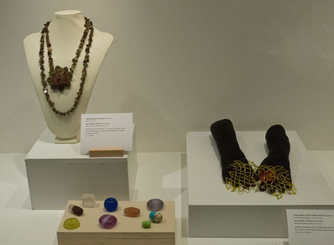 Bead Maker:  Laura Bowker   Jewelry Artist:  Virginia Blakelock Teresa Sullivan