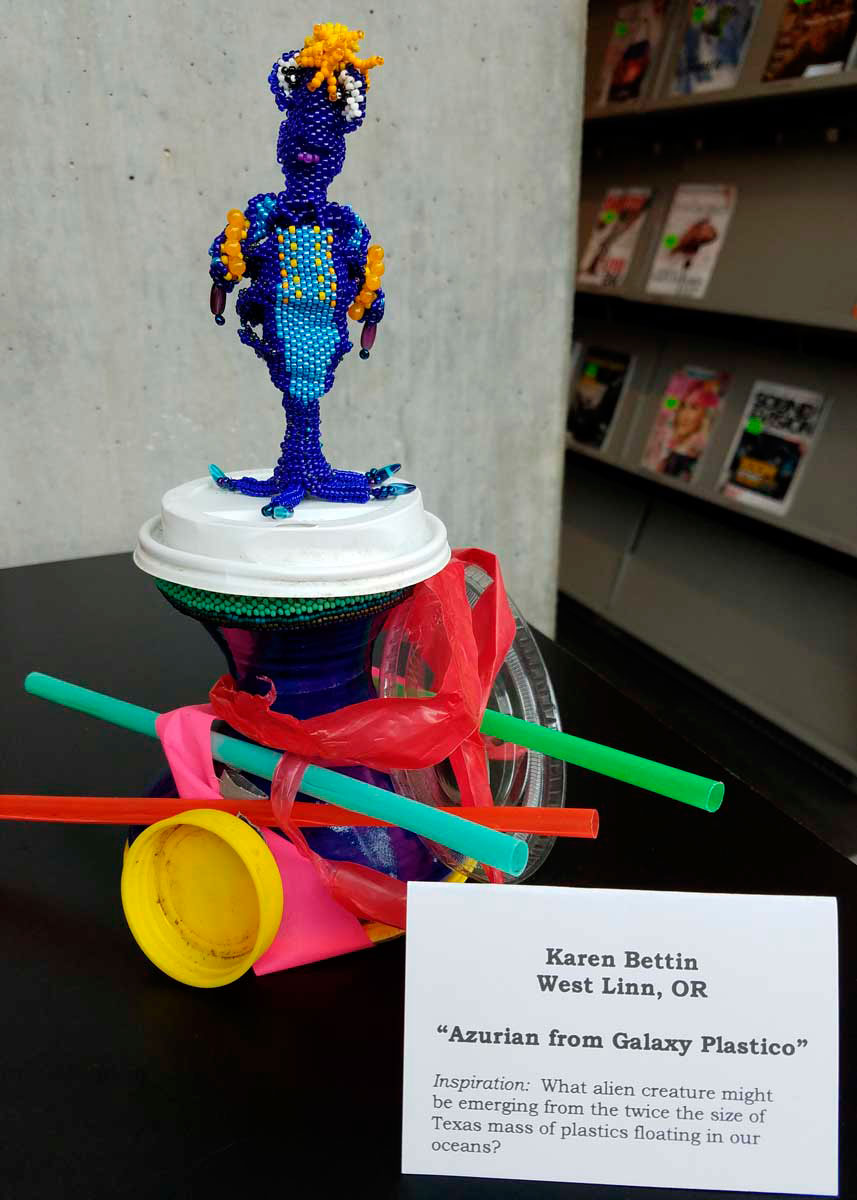 Azurian from Galaxy Plastico by Karen Bettin