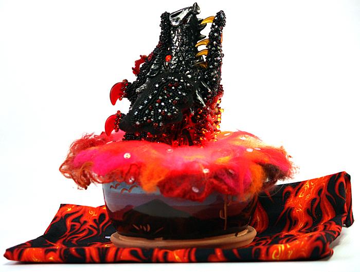 Dragon Flame by Merle Sherman