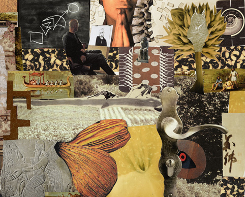 Of Fecundity    collagedetail      Lynn Horsky 2012
