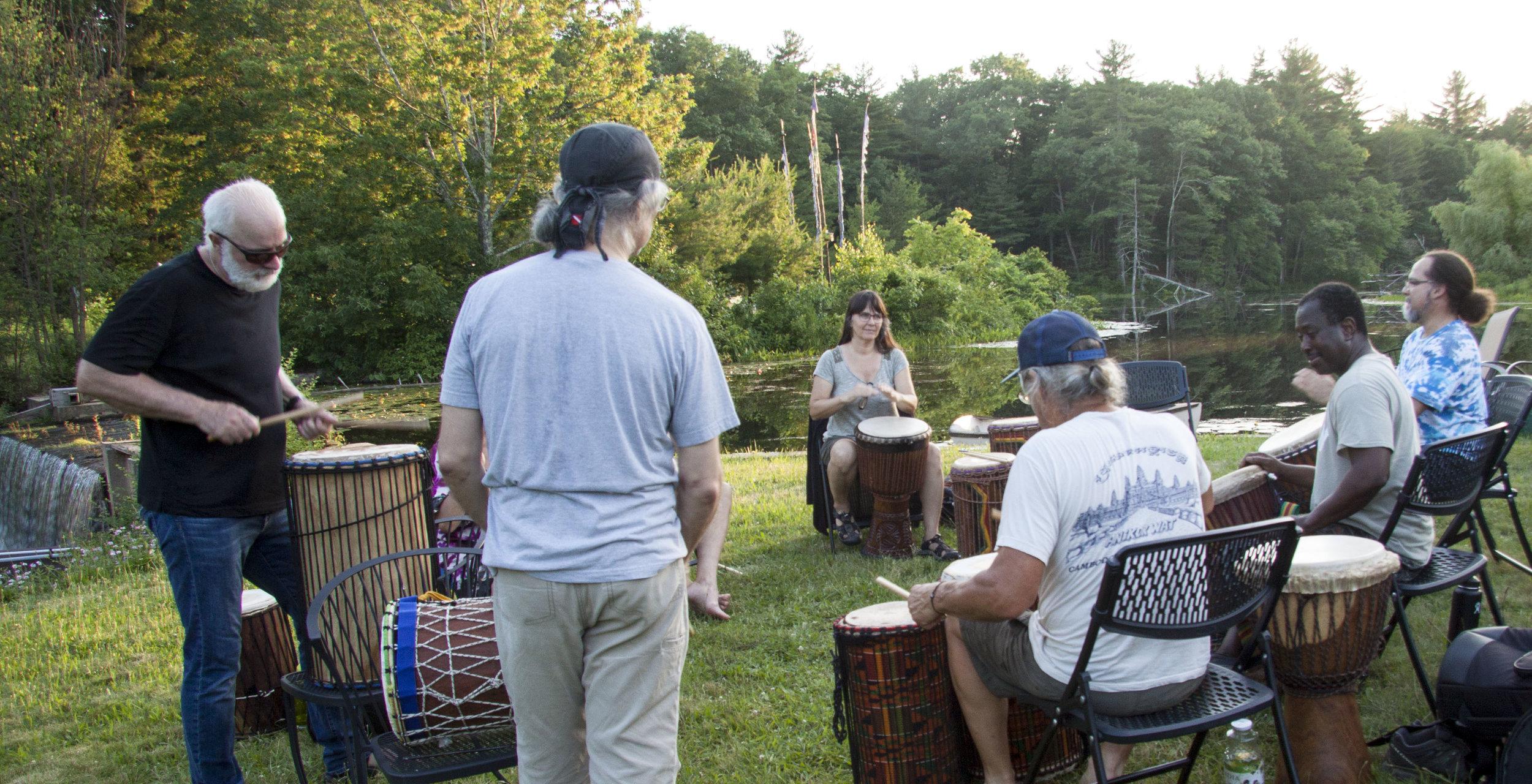 drumming near pond.jpg