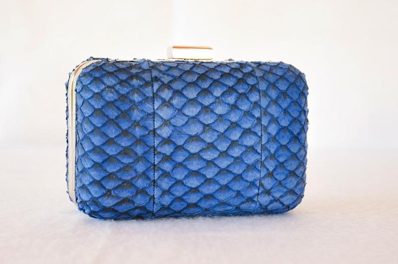 clutch box tilápia azul arara | Heliconia