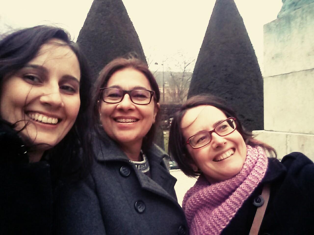 Sharen, Ana e Lúcia