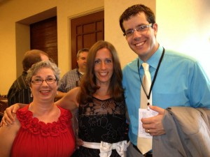 Pictured from Left to Right: Rose Wesselman, Lisa Marshall, Joseph Mayernik