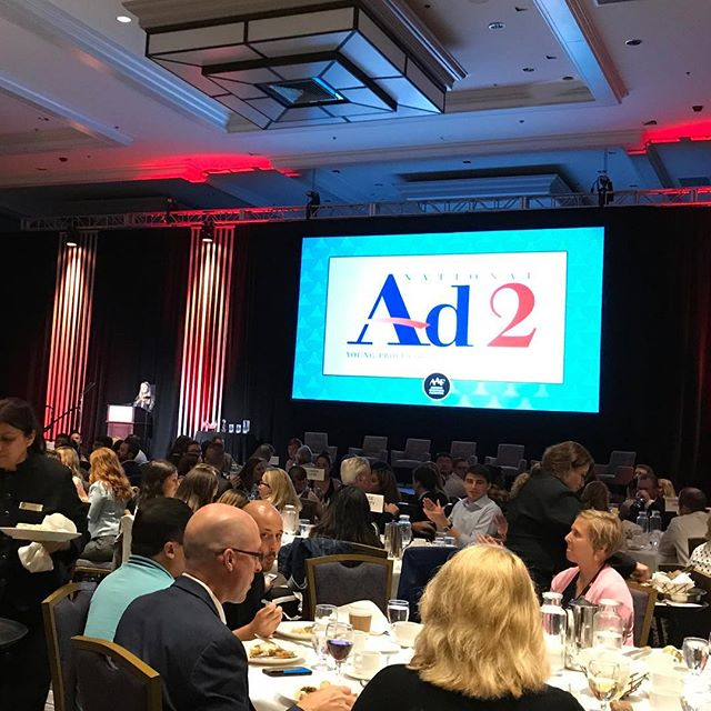 Ad2 and NSAC. Two wonderful reasons to come to the @aafnational ADMERICA.  Good luck @syracuseu!!!#forgeinspiration #forgeideas