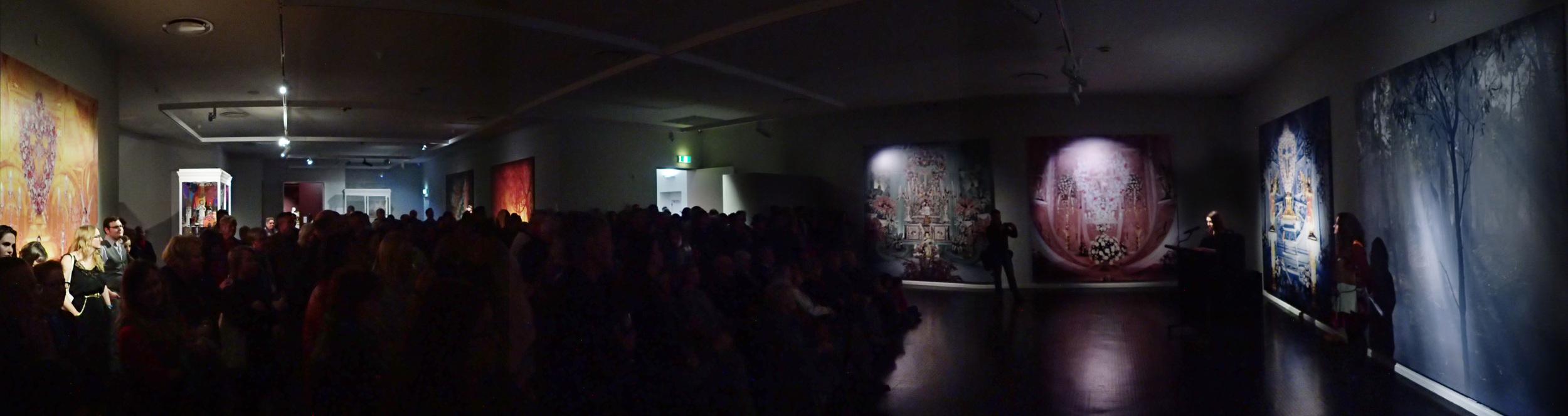 Culture Spirit Identity ; Warrnambool Art Gallery (opening night), Warrnambool/Australia 2016