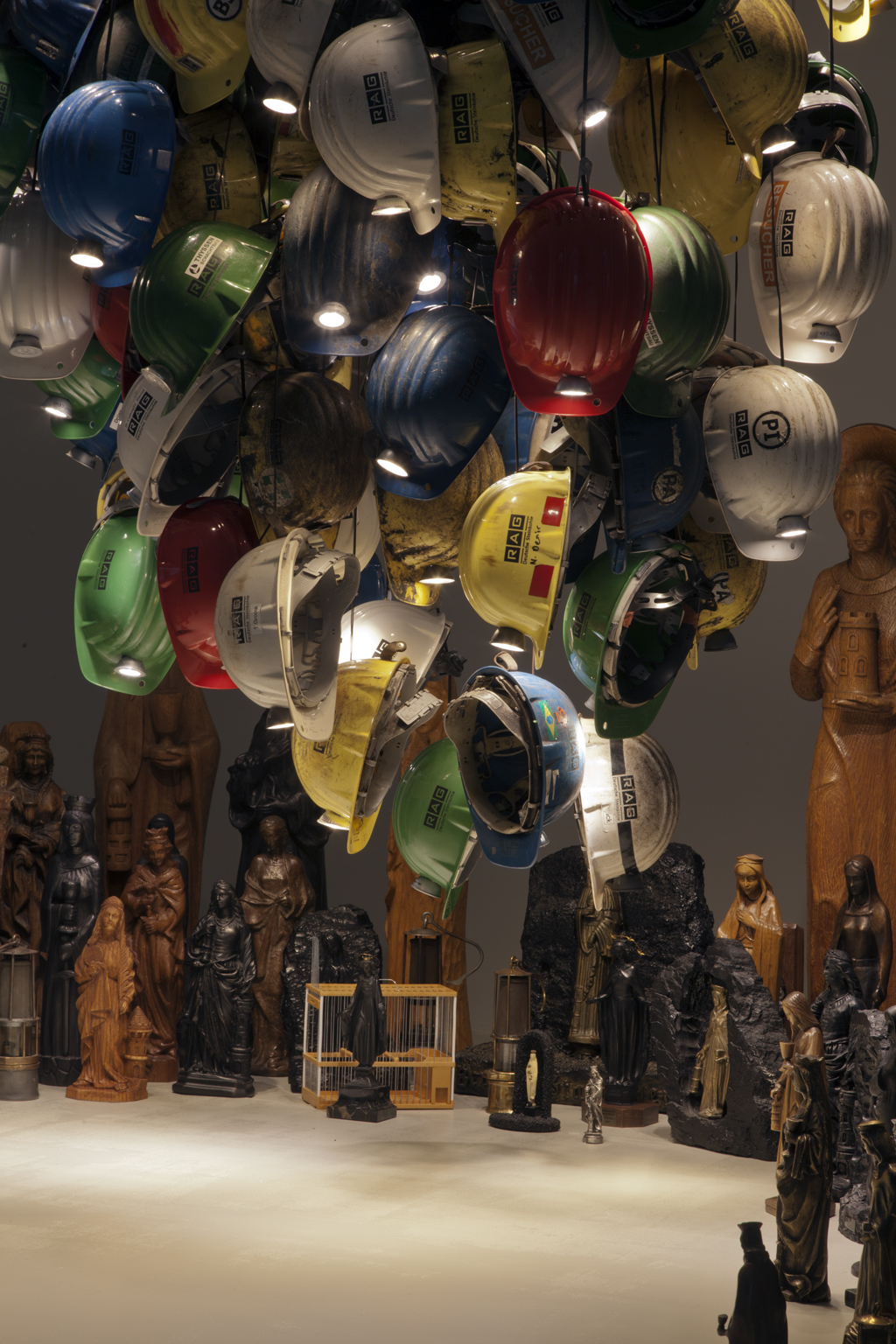 Exhibition: Kunst und Kohle, installation shot   Glück Auf II,  2018, Museum DKM, Duisburg/Germany