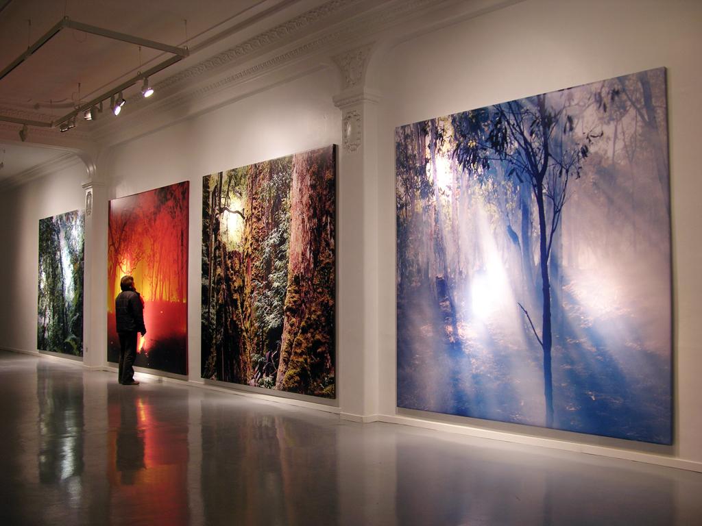 installation shot, Metronom- Fundación Rafael Tous, Barcelona, Spain 2006 - photograph: Ros Ribas
