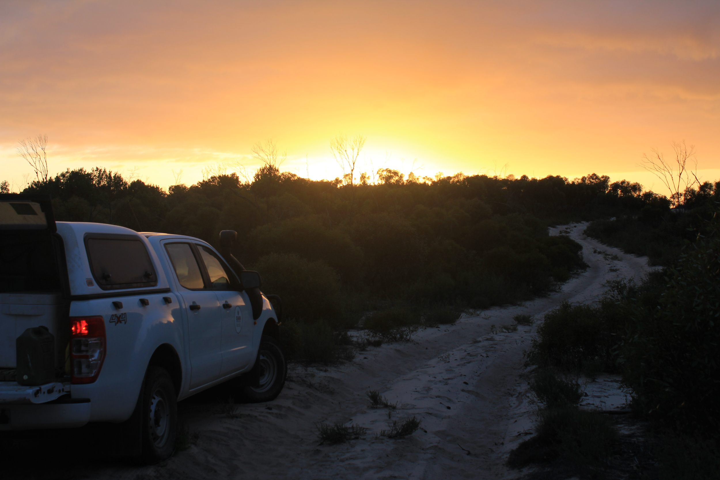 A picturesque Big Desert sunrise. Photo: William Geary