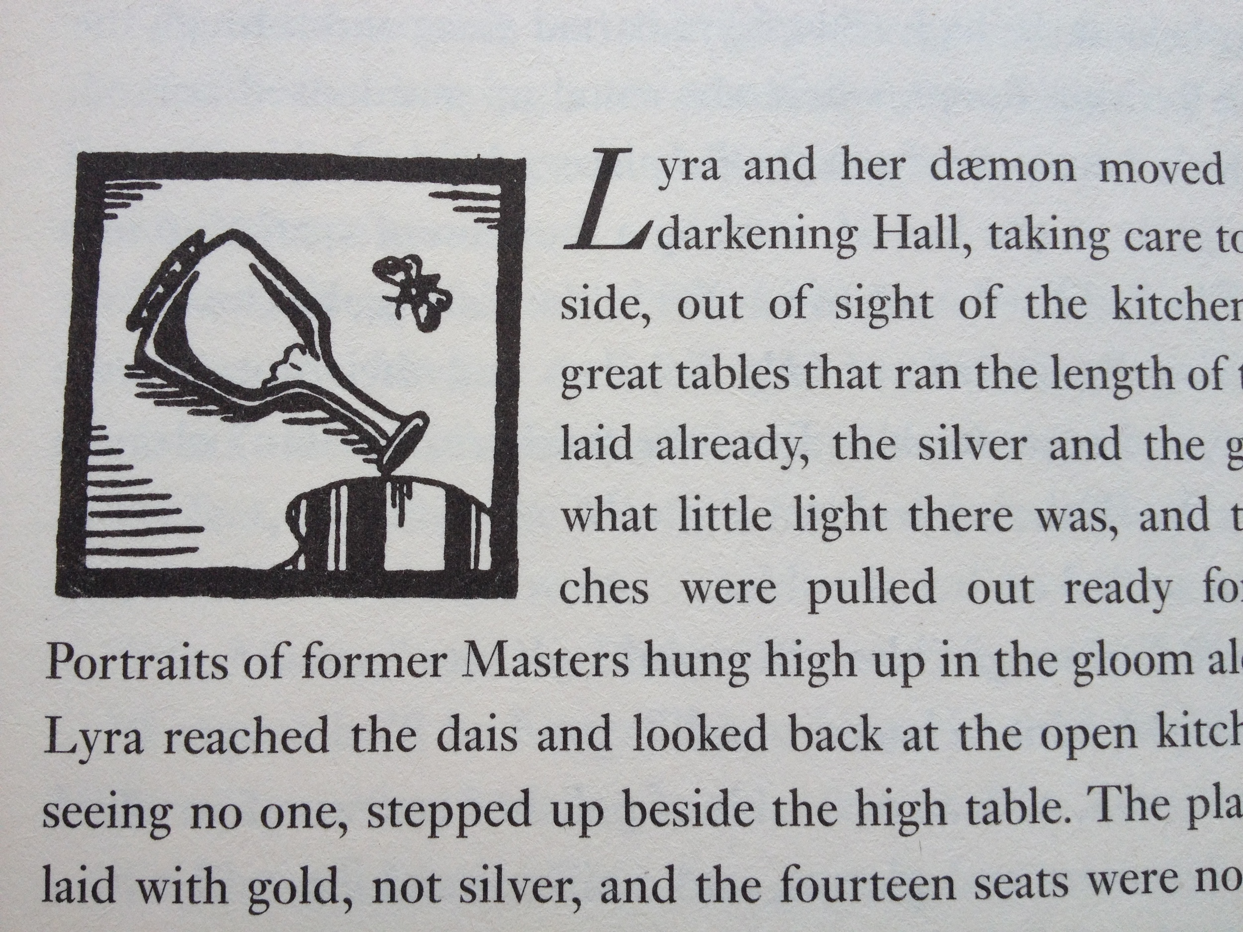 Every character in Phillip Pullman's  His Dark Materials  series has their own personal, animal daemon.