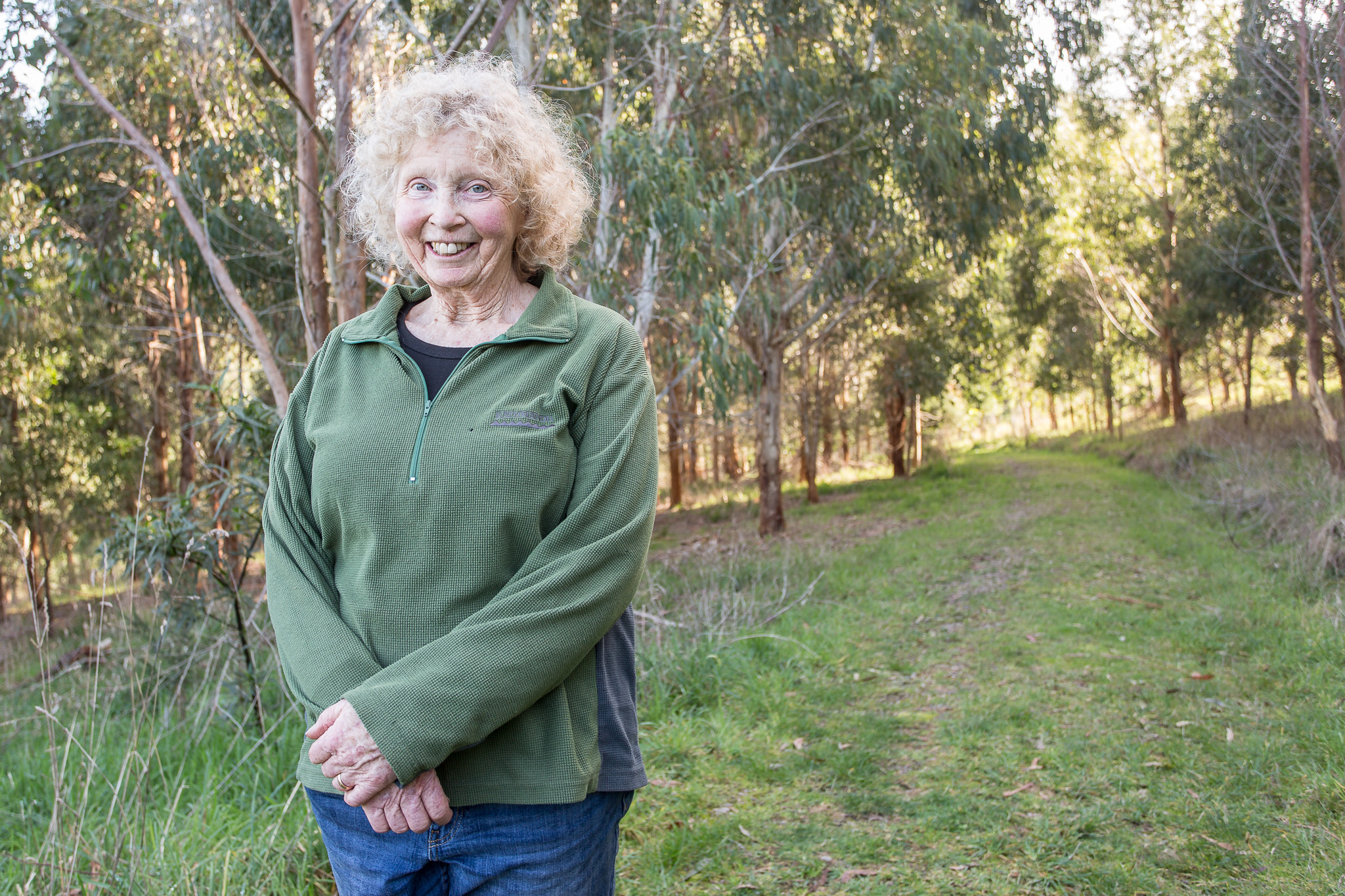Gillian Tolley, manager of Endeavour Fern Gully. Photo: Robert Geary