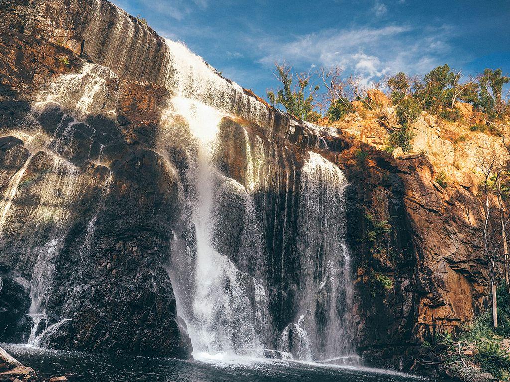Mackenzie Falls, Grampians National Park. Photo: Skare Media.