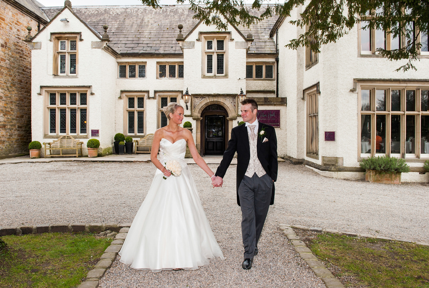 Mitton Hall Weddings | David Millington Photography | Lancashire Wedding Photographers