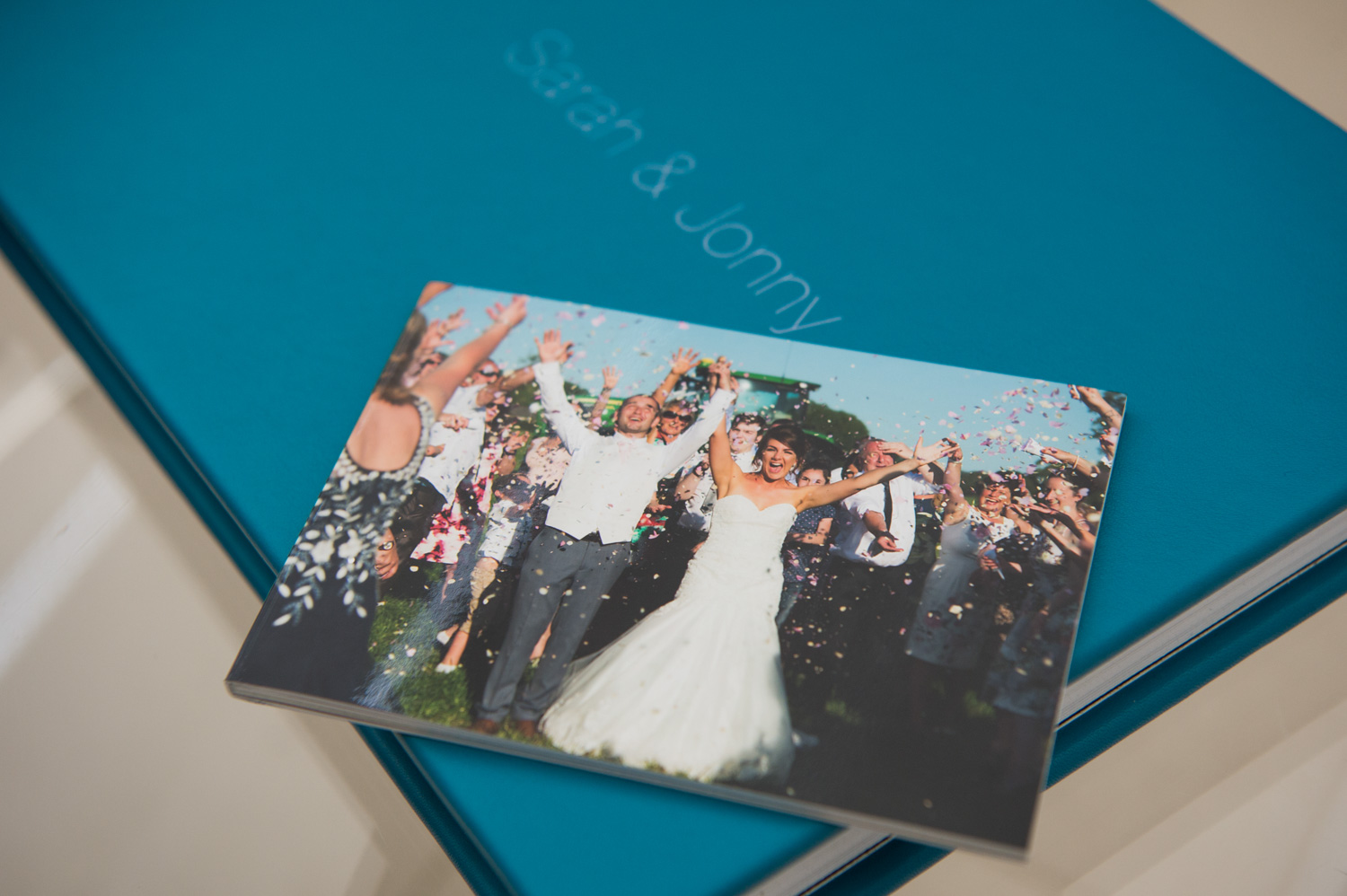 A wedding photography mini-book