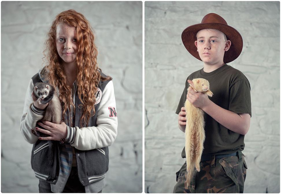 Ferret Portraits
