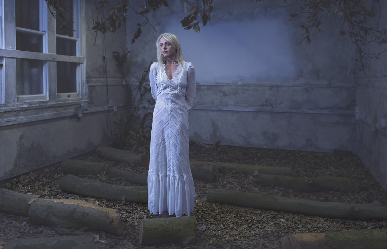 Laura Marling photographed at the Secret Music event in East London