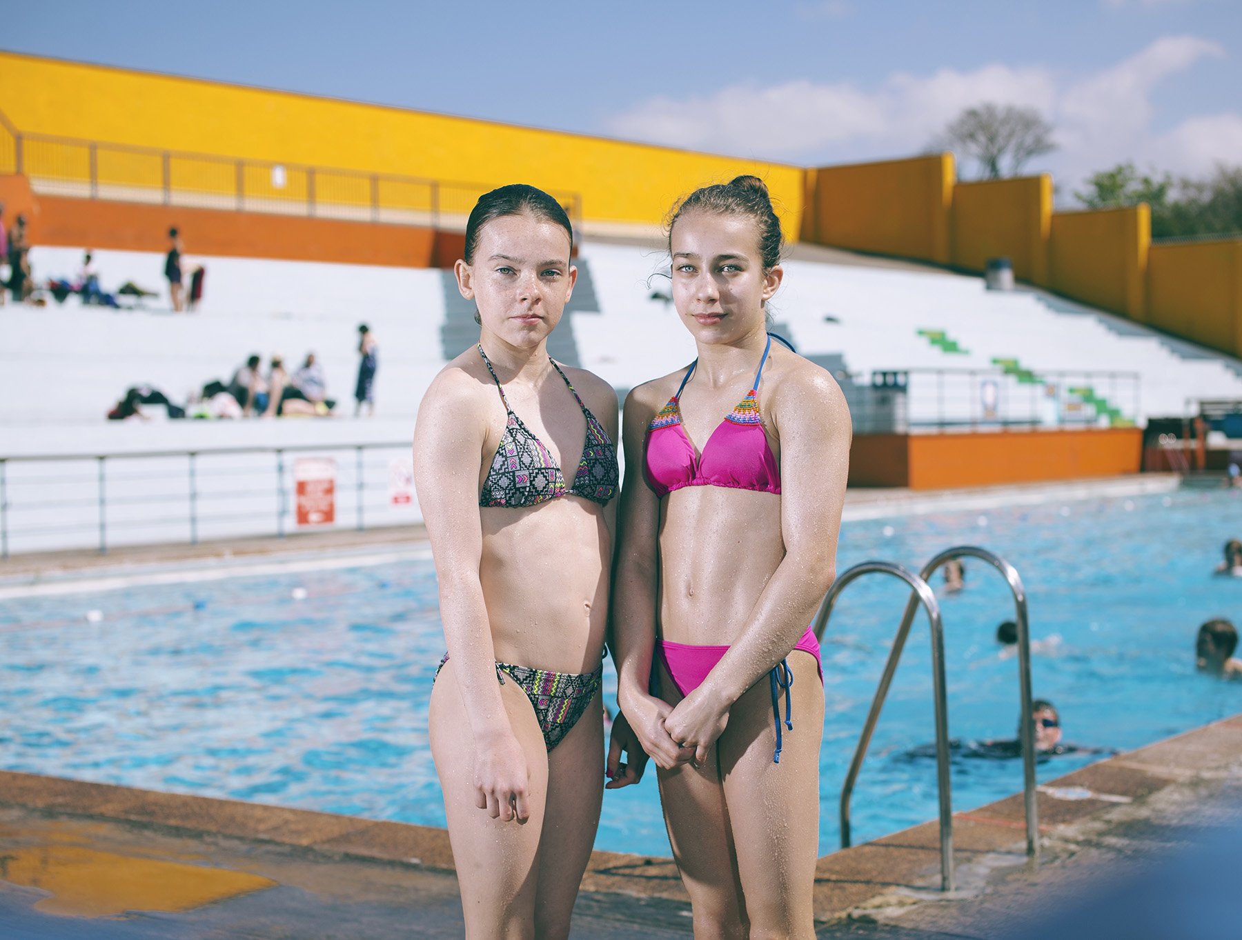Portishead Open Air Pool Portrait