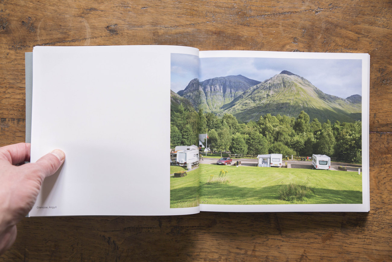 Glencoe Caravan photograph