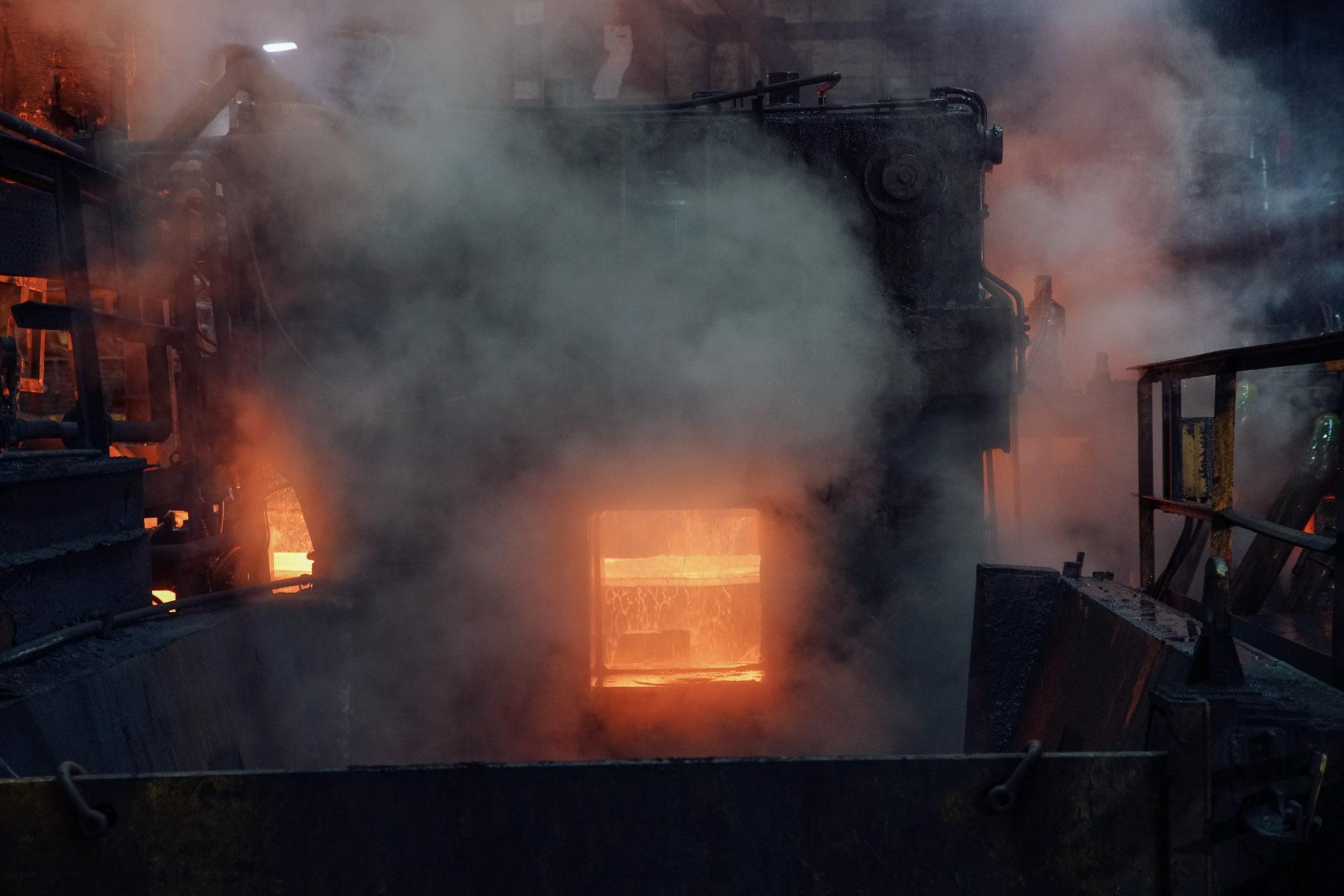 Steel Mill Port Talbot