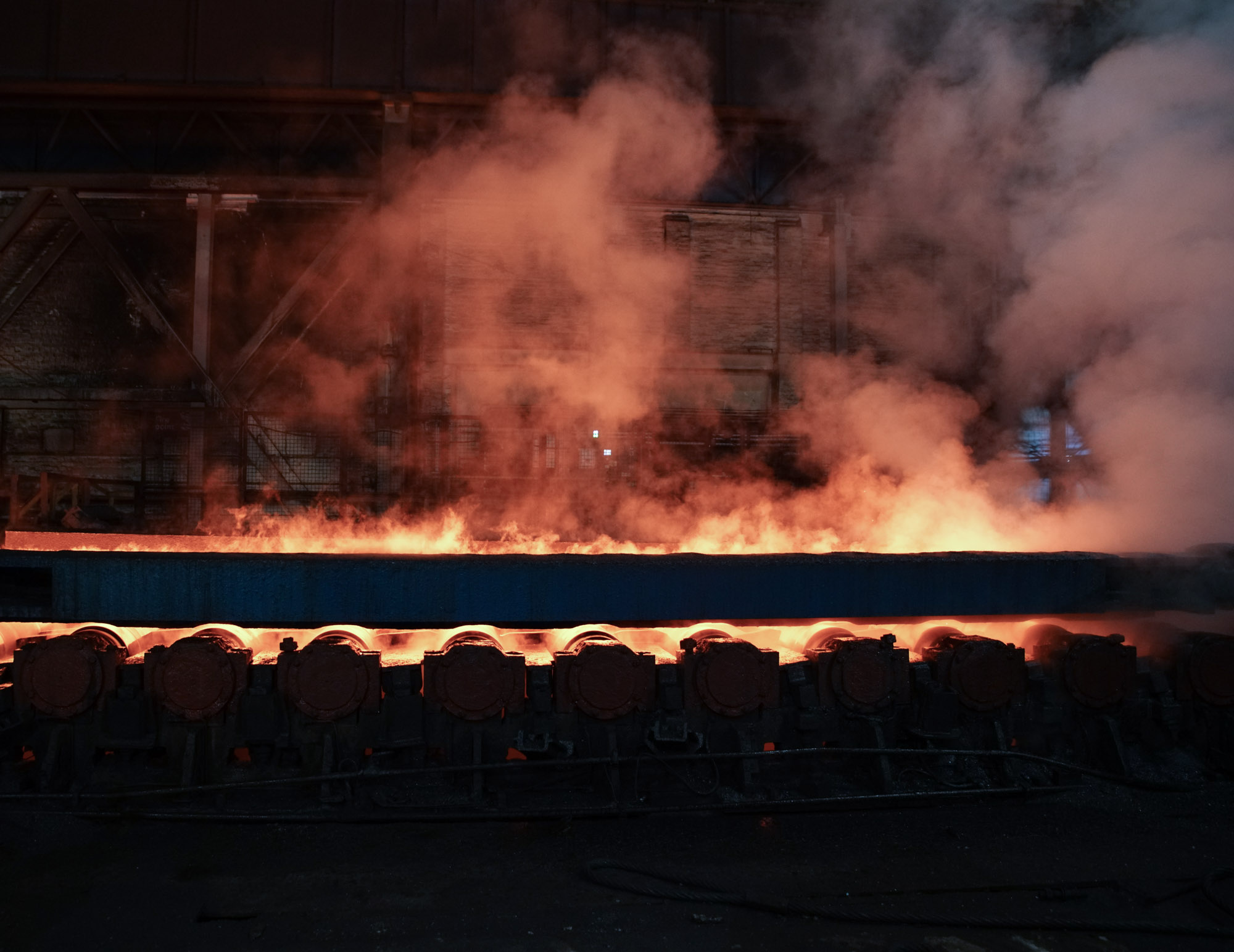 Flames Steel