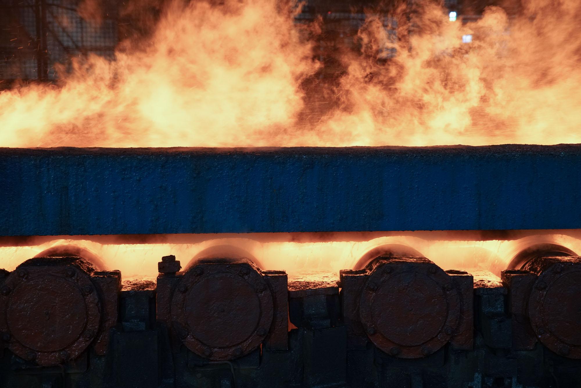 Rollers Steel Mill