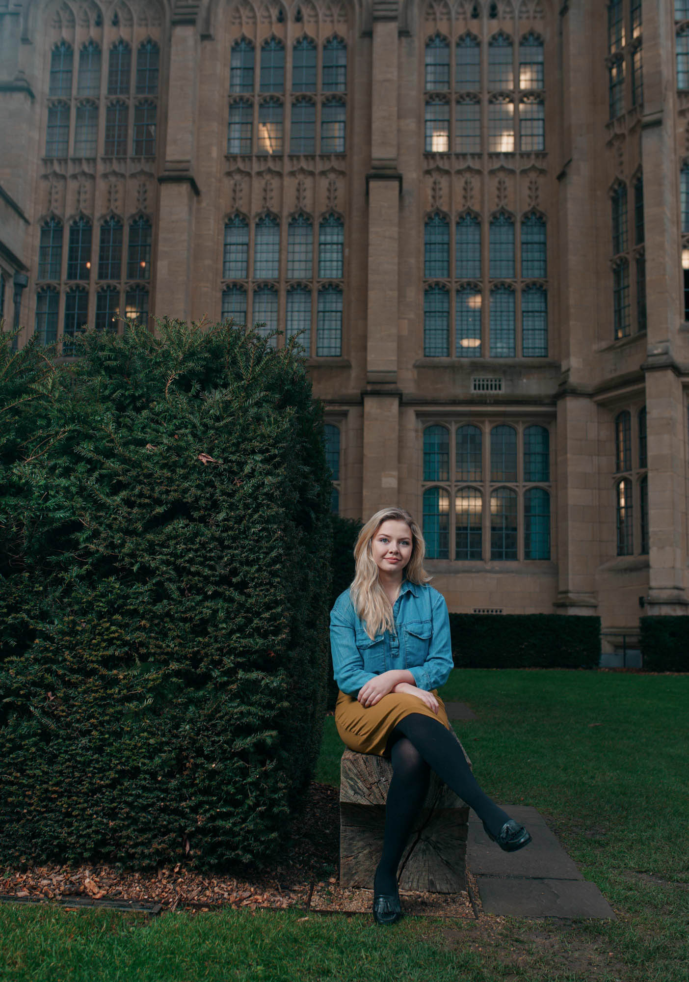 Bristol University student portraiture