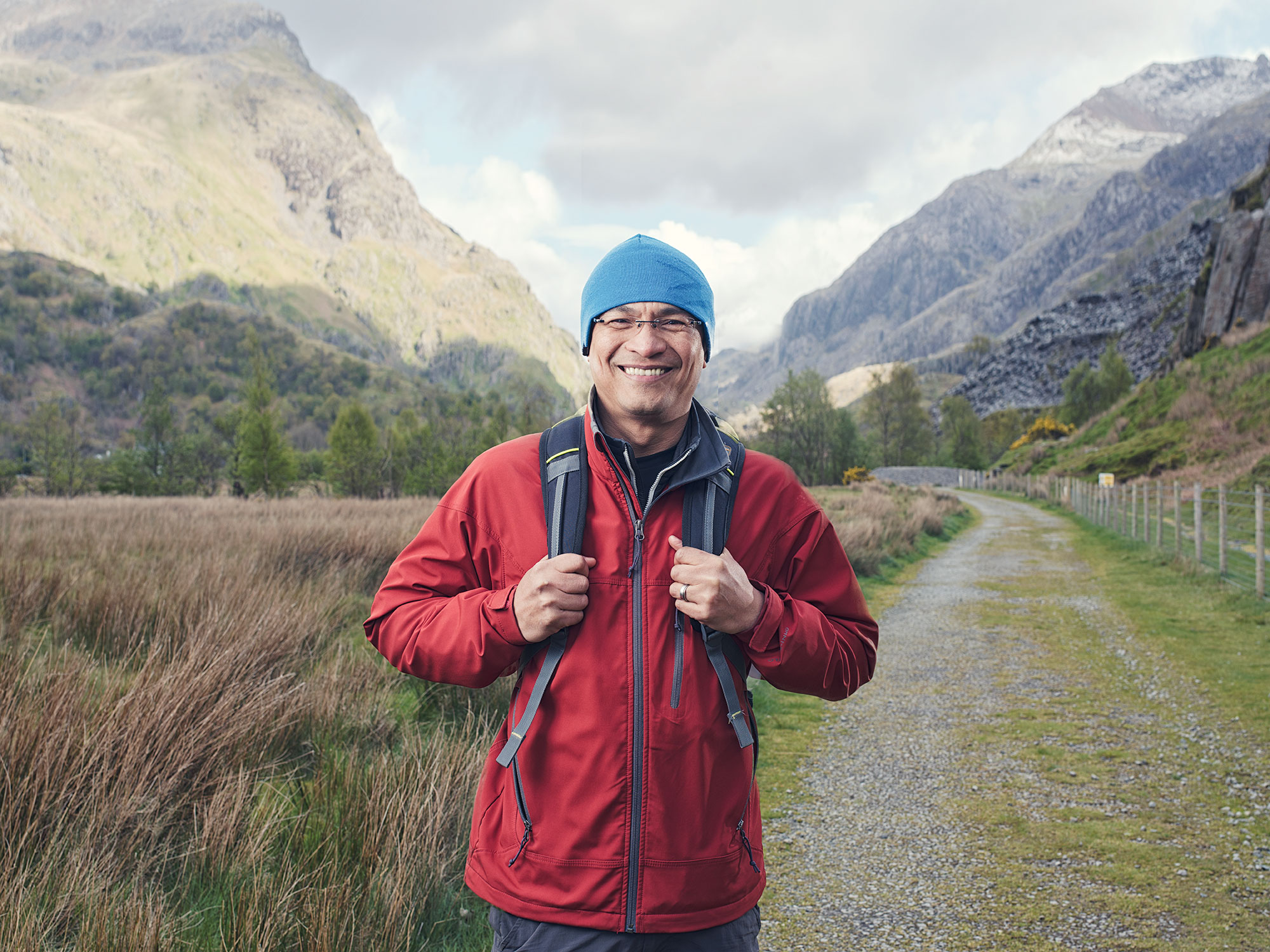 Snowdonia Hiking Portrait