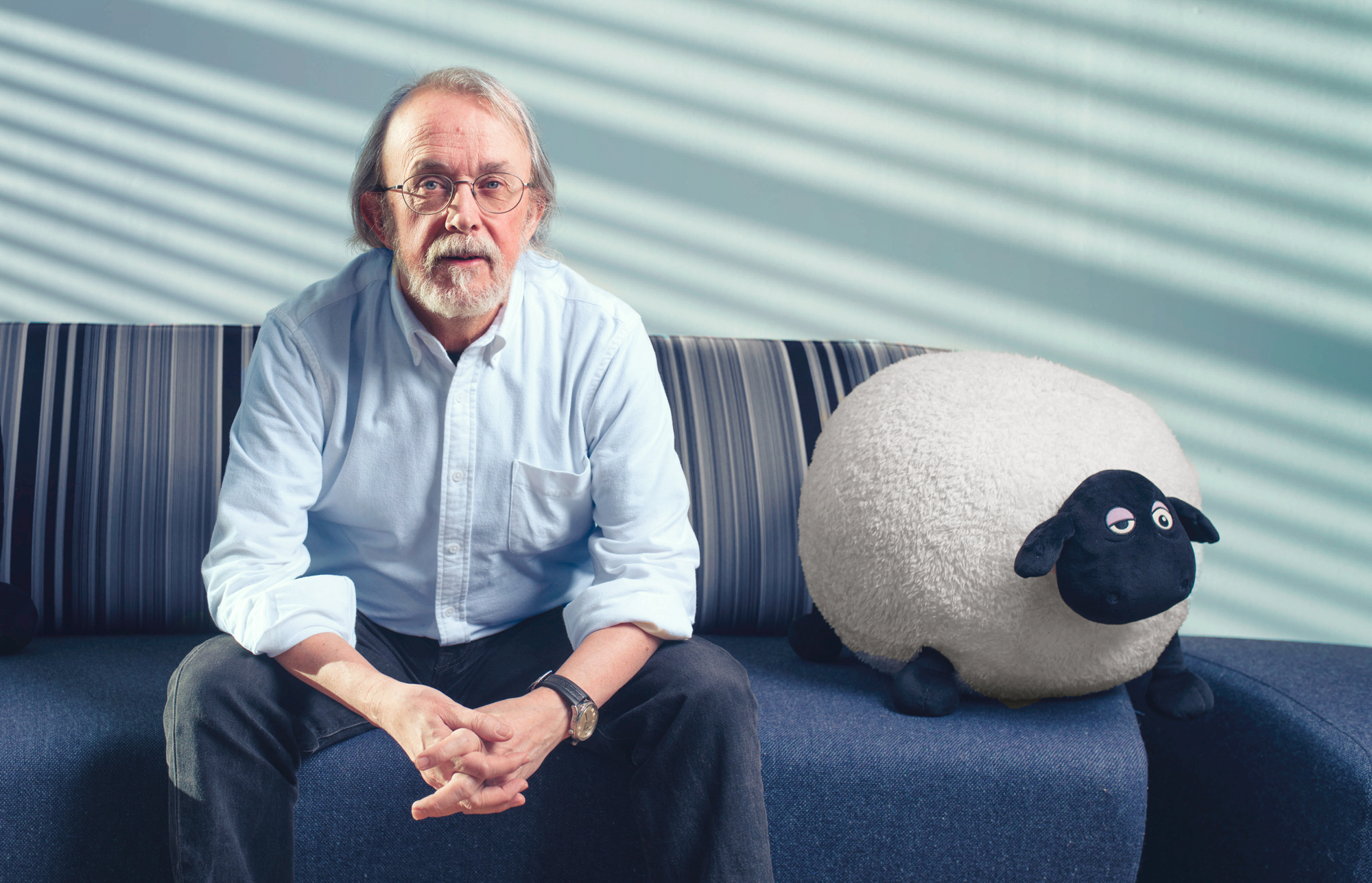 Peter Lord Photographed at Aardman Animations HQ in Bristol.