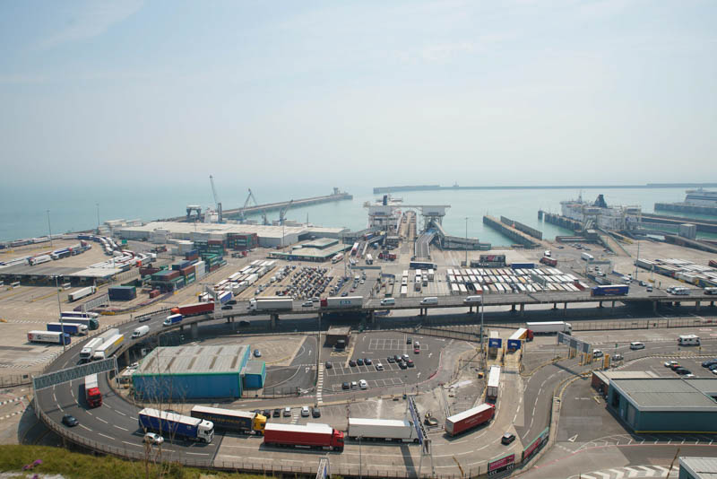 Port of Dover, Kent UK