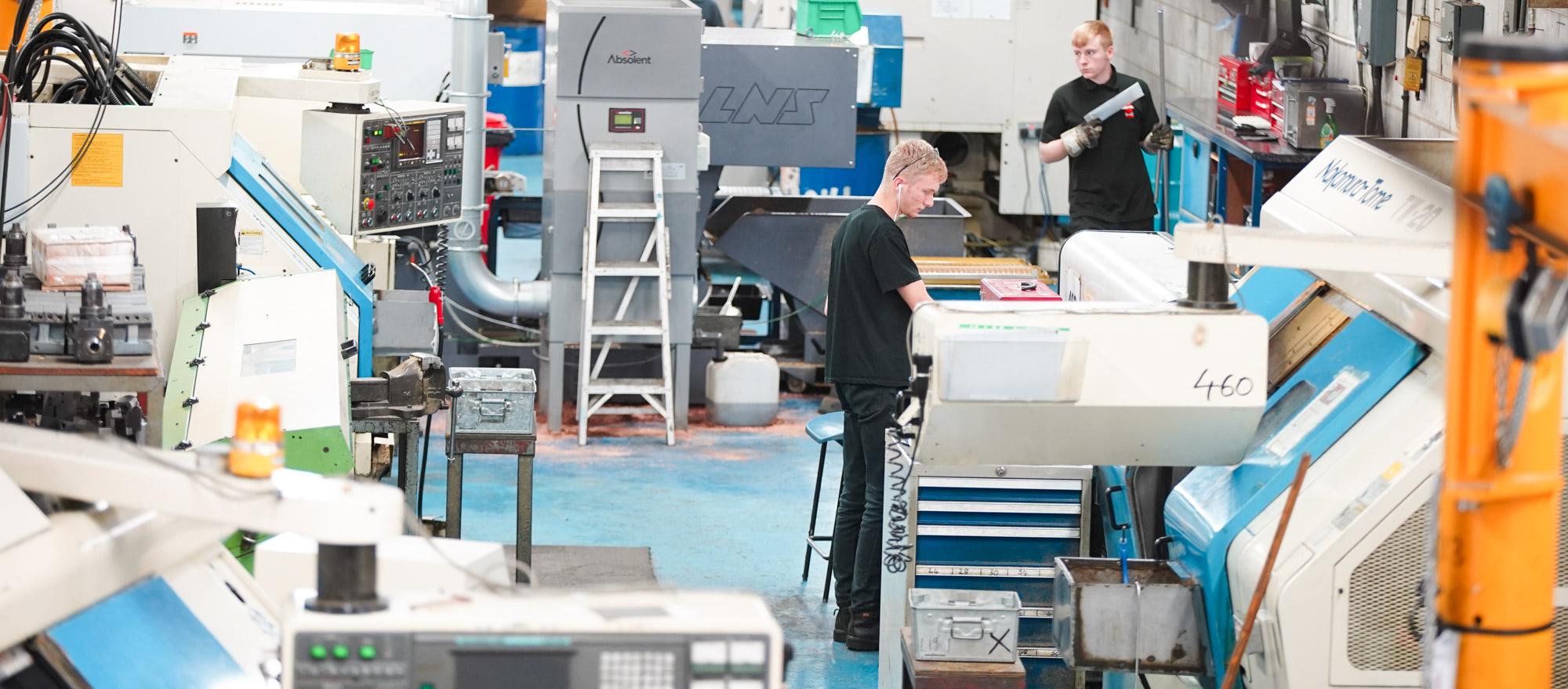 Seetru Factory Floor Bristol