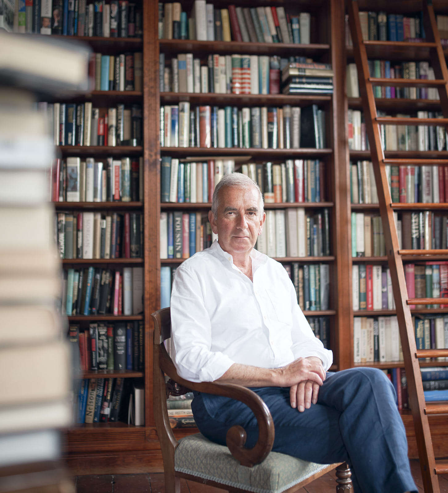 Novelist Robert Harriss