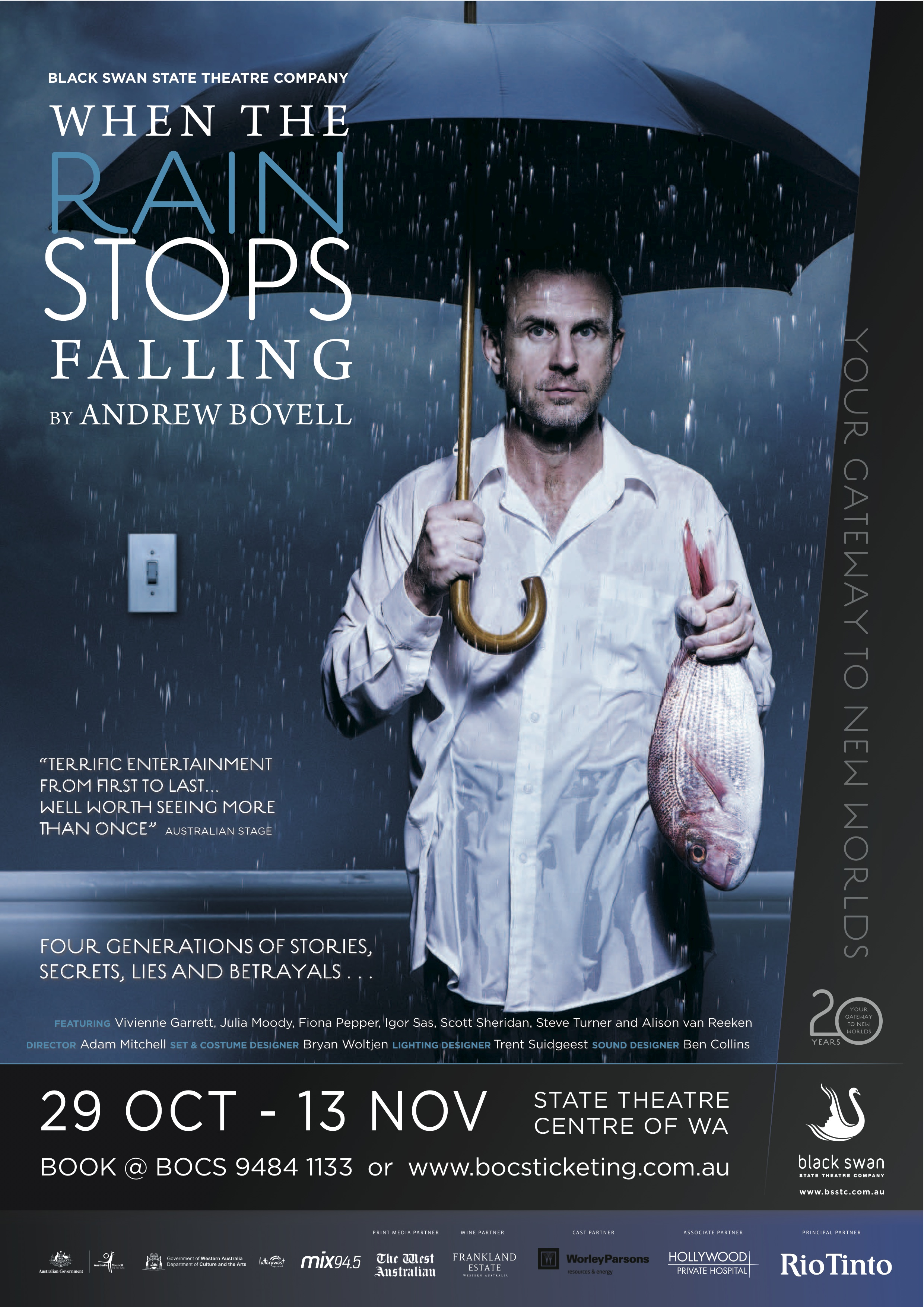 When the Rain Stops falling Poster