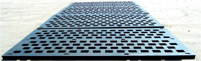 Screen plate used in scalping applications is far superior to steel plate from both a noise perspective and length of life increasing life by 300 % over Hard-ox steel