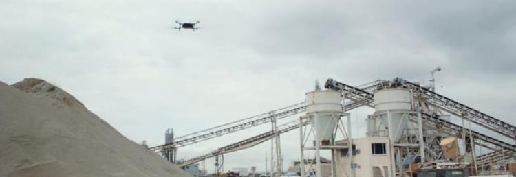 Our UAV TAVS system on Mission