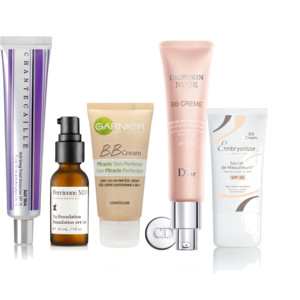 Chantecaille, Perricone MD, Garnier, Dior and Embryolisse