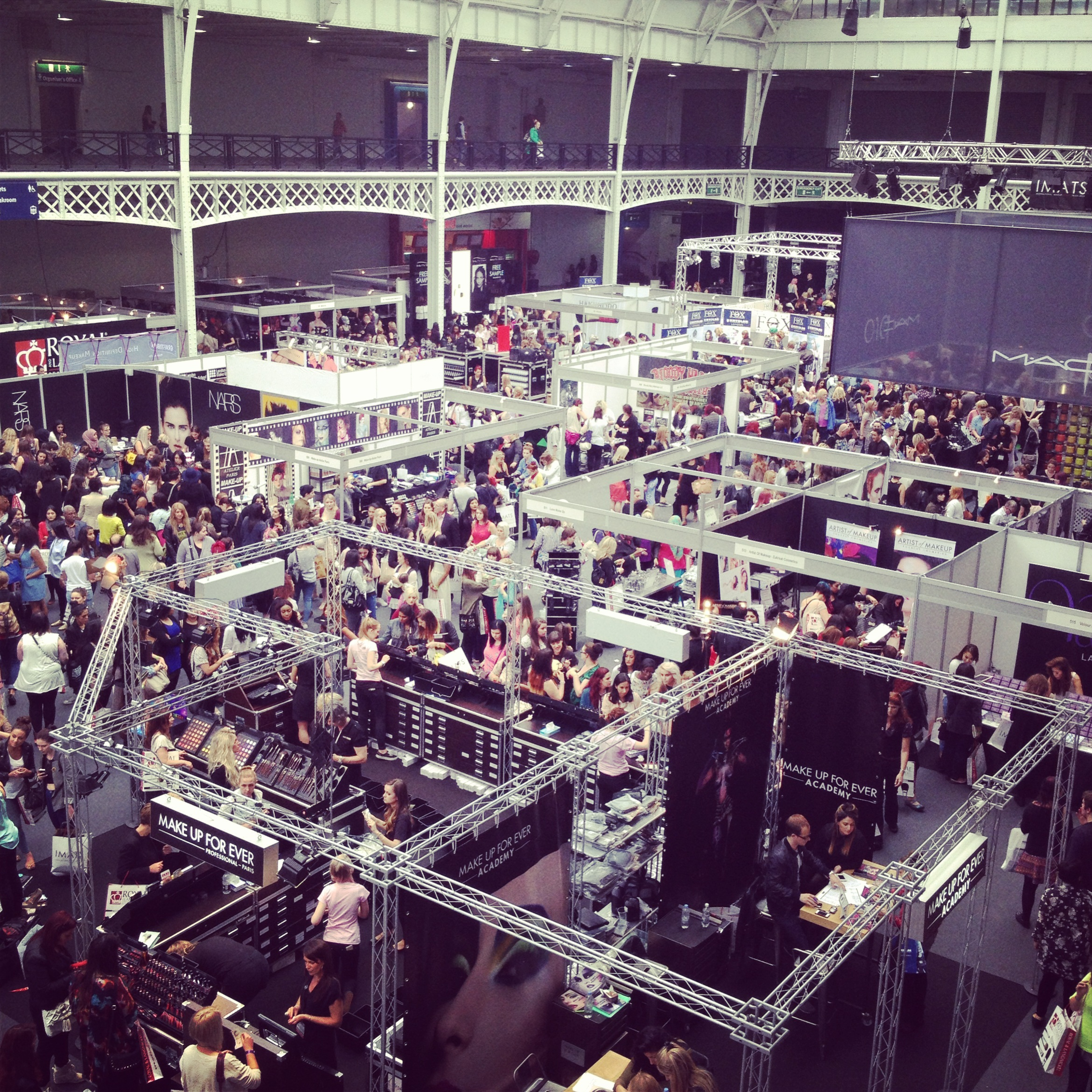 The crowd at IMATS London 2013