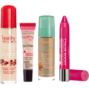 Healthy Mix Serum, Healthy Mix concealer, BB Bronzing cream, Colour Boost lip crayon