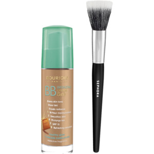Bourjois BB Bronzing Cream + the style of brush I use to apply it