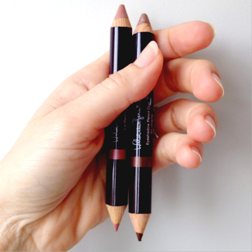 Wild About Beauty Lip Pencil Duo in Mia and Eyeshadow Pencil Duo in Charlie