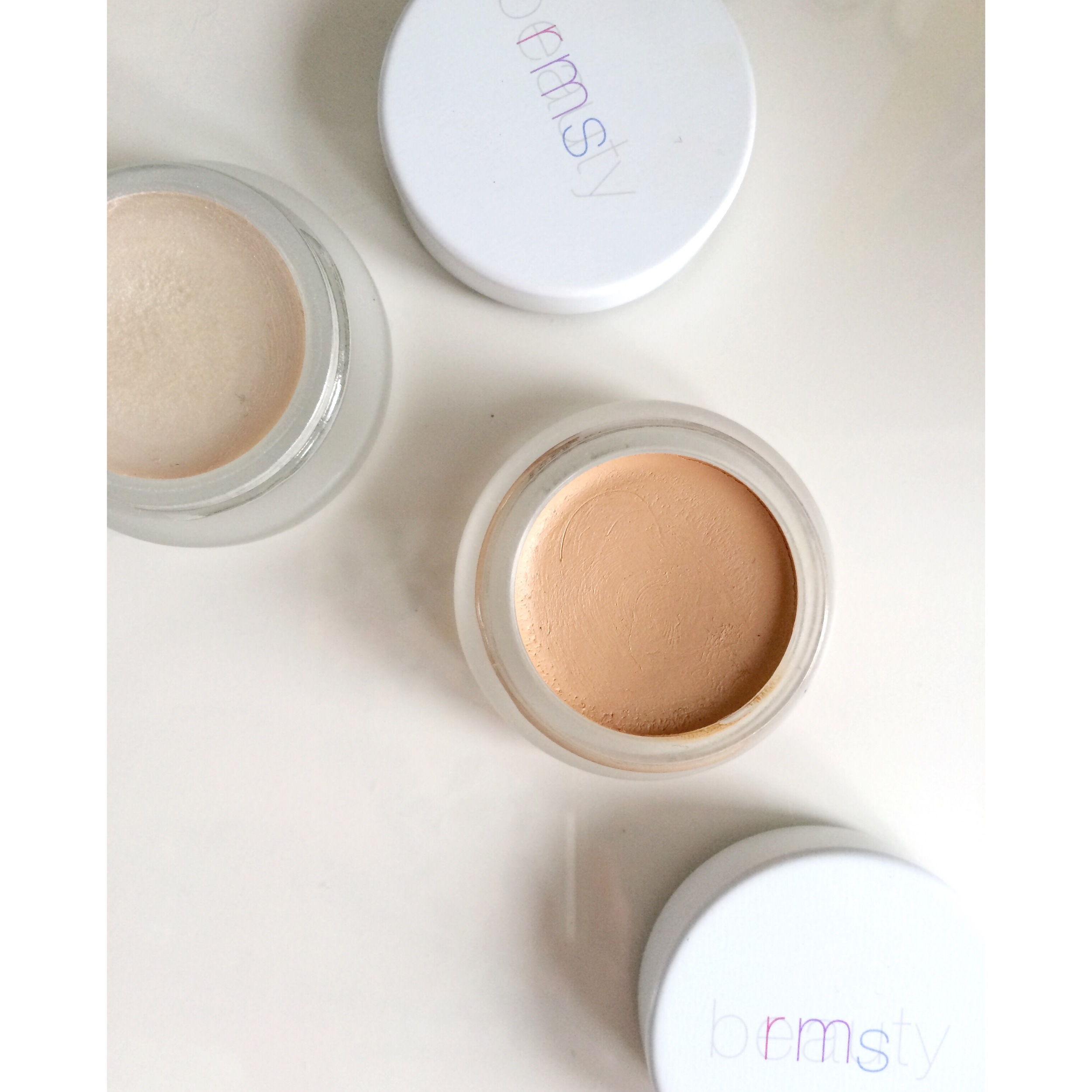 RMS Beauty 'Un' Cover Up shown here with RMS Beauty Living Luminizer
